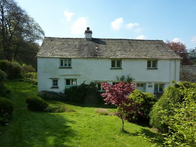 Photo for Peaceful South Lakes cottage with enclosed garden close to  Coniston water.
