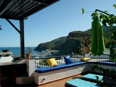 Photo for A breathtaking view M'diq Villa Marsa Panoramic view, Ocean View.