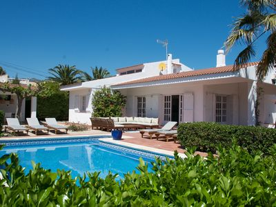 Photo for EXCLUSIVE: Villa CALAFAT renovated in 2019 at 30 m from the sea and 300m from the beach