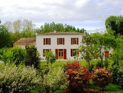 Photo for Luxury Home with Heated Pool in landscaped garden near La Rochelle