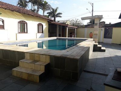 Photo for House with pool 50 meters from the sand, well located and safe.