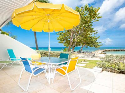 The location and view speaks for itself ~ Oceanfront unit right on 7 Mile Beach at Sunset Cove!