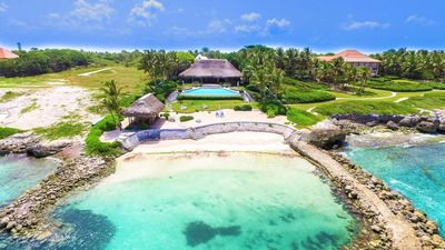 Photo for Luxury 5 bedroom villa with private pool in exclusive Punta Cana resort
