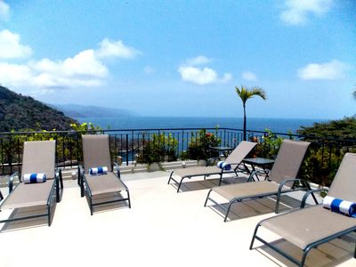 Photo for VILLAS ALTAS MISMALOYA PH A3 DREAM VIEWS TO MISMALOYA BEACH AND BAY
