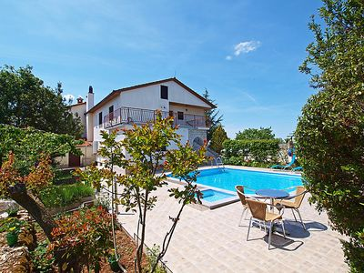 Photo for 3 bedroom Apartment, sleeps 8 in Križanici with Pool, Air Con and WiFi
