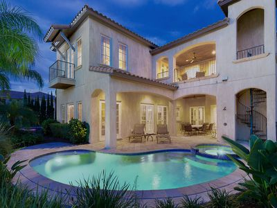 Photo for Muirfield Elegance   Spacious Villa with Golf Course / Water Views, 4 Suites
