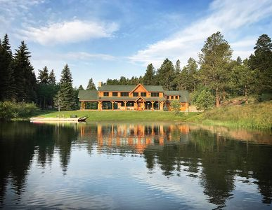 Photo for Colorado Dream Home on a Trout Filled Private Lake, Close to Denver!