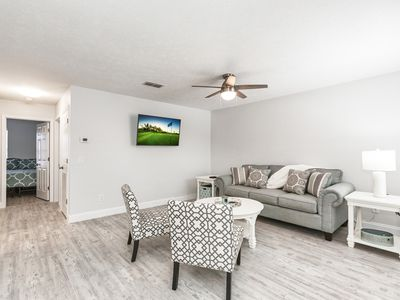 Photo for Walk to the Gulf! Updated 2BR Near Shopping, Dining, Golf & Water Park