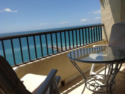 Photo for Magnificent apartment on the beach with incredible views