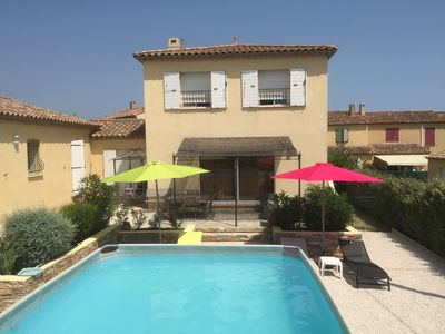 Photo for 130 sq.m villa in Roquebrune-sur-Argens, close to the sea and the lake
