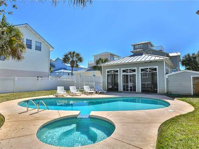 Photo for Crystal View - Crystal Beach! Gulf View! Private Pool w/ Cabana! Pet Friendly!