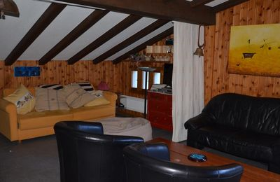 Photo for Located on the 1800 road, 500m from the Trabanta chairlift, the Dent-Blanche building, without swimming pool, is