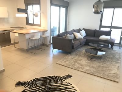 Photo for Tel Aviv Modern & Spacious  3 BR Luxury Apt in a good aria close to the lake