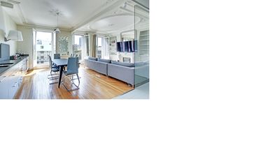 Photo for Modern / Contemporary Luxury Apt in Neuilly-sur-Seine 85m2. High end furniture