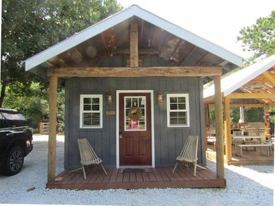 Photo for Tiny House min from Lake Hartwell/Clemson,Secure Boat Storage w/Batt Charge Port