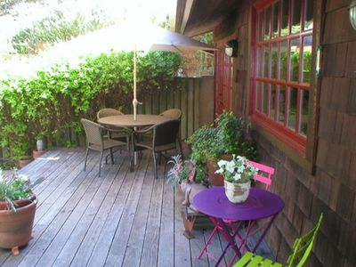 Photo for Sunshine, Oak Trees, Guest House, Hot Tub, 2 Fire Pits