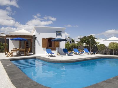 Photo for Villa Katrina - 2 bedroom villa with private heated pool located near the beach.