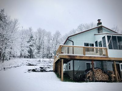 Photo for Cozy Belleayre Cabin with Amazing Mountain Views