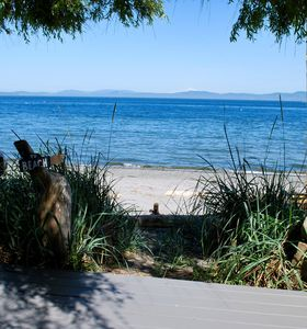 Photo for The Beach House Retreat - Unique Ocean-front cottage in Cordova Bay