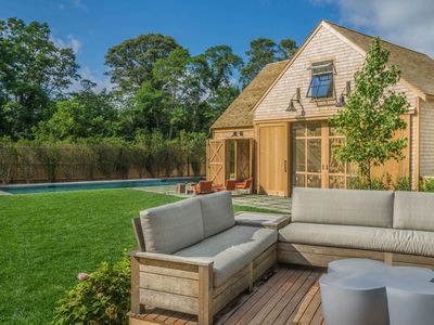 Featured in Boston Globe- fully renovated cape with pool & modern barn poolhouse