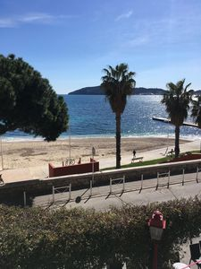 Photo for Beautiful charming T2 on the coast of Toulon (district of Mourillon)