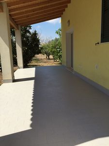 Photo for Villa Nora, quiet villa located 5 minutes from the sea and the village of Brucoli