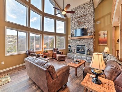 Photo for Majestic Massanutten Home w/ Stunning Slope Views!