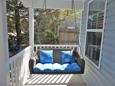 Porch Swing for Relaxing