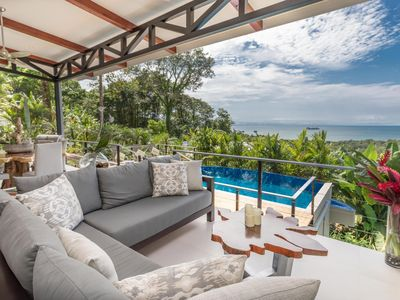 Photo for SUMMER SPECIAL! Contemporary, Luxury, Gorgeous Ocean Views! WALK TO PRIVATE BEACH!