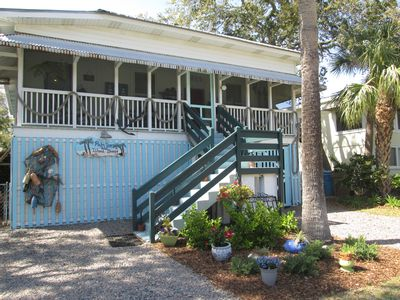 Photo for Historic raised Tybee cottage, very cool, comfortable and oh so Tybee!