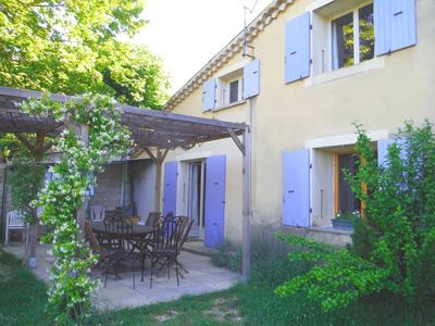 Photo for Large family and rural lodging *** with swimming pool at the gates of Drôme Provençale