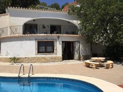 Photo for Villa with private pool and fantastic sea view, WiFi