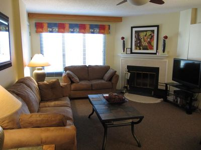 Photo for 2BR/2BA Silver Creek, Ski/Board, Slopeside, In/Outside Heated Pools, Tubing