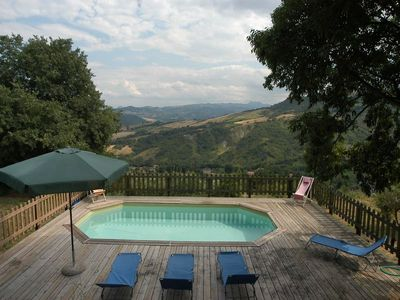 Photo for Villa with private pool and stunning views in the Maiella National Park