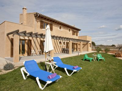 Photo for Newly built luxury finca on the outskirts of Porto Cristo in the southeast of Mallorca