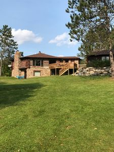 Photo for Private Lakefront Cabin on 40 Acres - Includes SUPs and Kayaks!