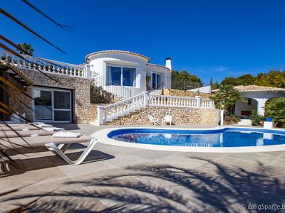 Photo for Villa La Buena Vista very nicely furnished with swimming pool in trendy Benissa