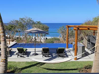 Photo for Awesome secluded beachfront location in Sayulita