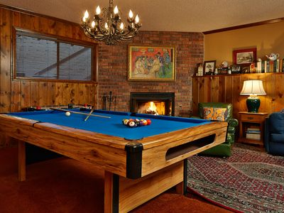 Photo for Summerhill Cottage with Game room. Pool table and access to Lake Arrowhead