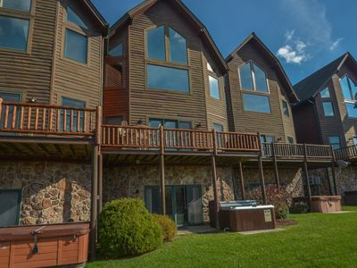 Photo for Enjoy lake & ski slope views and a prime location!