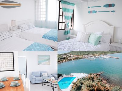 Photo for Apartment with Ocean view!! Breathtaking 20% off on kayak bio bay