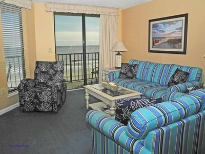 Photo for Beach Club I 5B! Fantastic OceanFront 3 Bedroom Condo! Book now today for best rates!