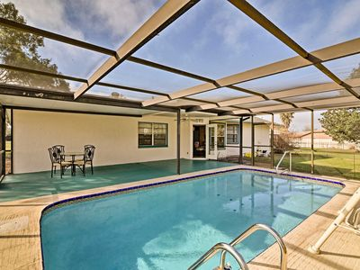 Photo for Peaceful Spring Hills Home w/ Private Lanai Pool!
