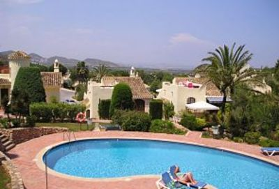 Photo for Villa in La Manga Club, Lovely El Rancho with great views