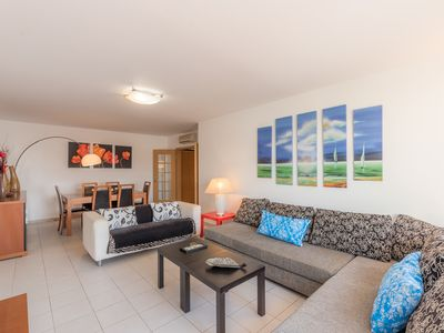 Photo for 1 Bedroom Penthouse (Huge balcony, Sun and Lounging, WIFI, Garage)