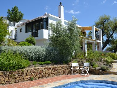 Photo for Secluded Villa with Panoramic Views, Private Heated Pool and Free Internet.