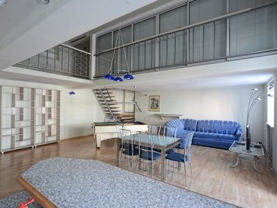 2 Level 2 Bedroom Penthouse with Billiard table