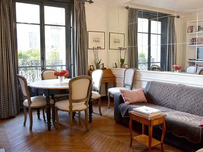 Photo for 2 Bedroom Parisian Apartment Close to Eiffel Tower