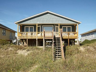 Photo for Brunswick House - 4 Bedroom Oceanfront home with covered porch