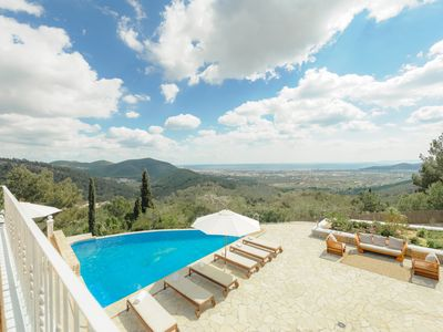 Photo for VILLA BLANCA, your private view of IBIZA (next to Playa den Bossa)